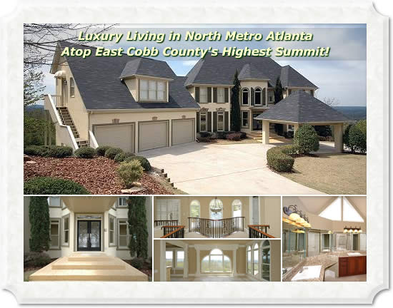 Marietta GA Luxury Home in East Cobb County